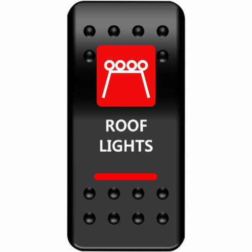 Moose UTV Roof Light Rocker Switch