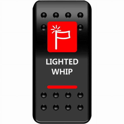 Moose UTV Whip Light Rocker Switch