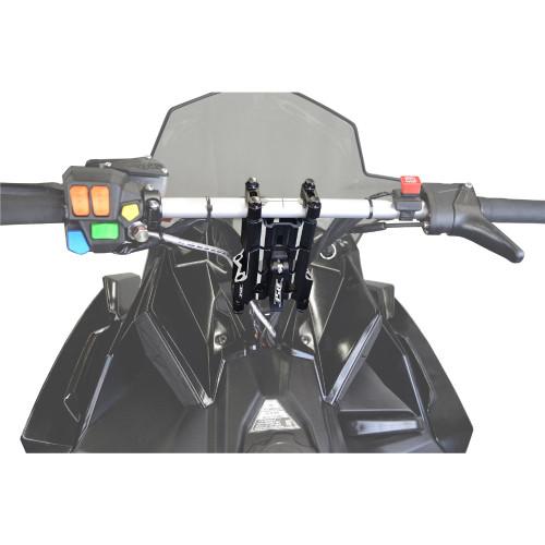 RSI Flex Adjustable Handlebar Risers (Black)