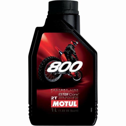 Motul 800 Factory Line Off-Road 2T Synthetic Motor Oil