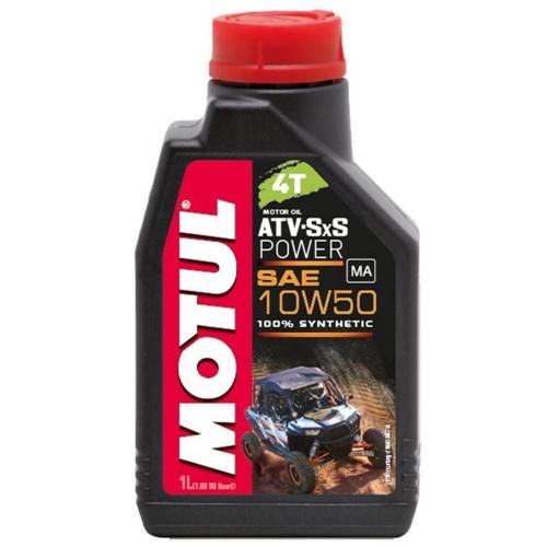 Motul ATV-SXS Power 10W50 4T Synthetic Motor Oil