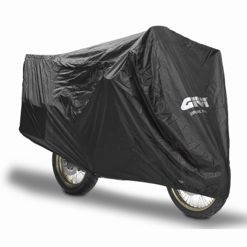 Givi S202 Waterproof Motorcycle Cover (Black)