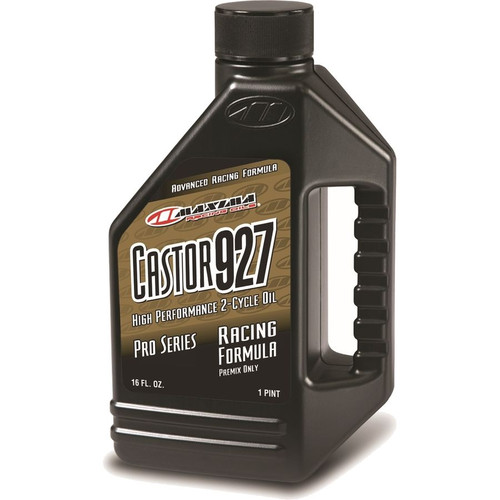 Maxima Castor 927 High Performance 2-Stroke Premix Ester Racing Engine Oil