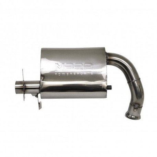MBRP Quiet Trail Series Performance Snowmobile Exhaust