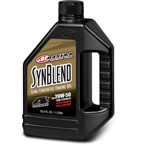 Maxima Syn Blend Semi-Synthetic 4-Stroke Ester Engine Oil