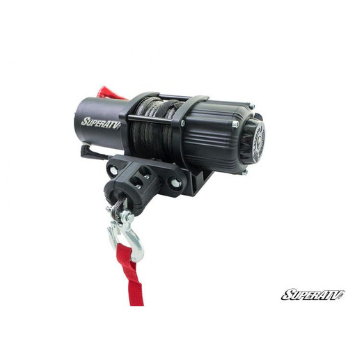 Super ATV 3500 Lb. Black Ops UTV/ATV Synthetic Rope Winch