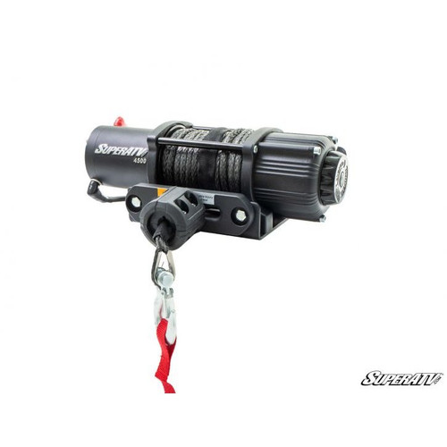 Super ATV 4500 Lb. Black Ops UTV/ATV Synthetic Rope Winch