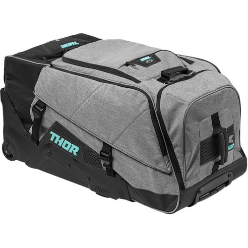 Thor Transit Wheelie Bag (Black/Mint)