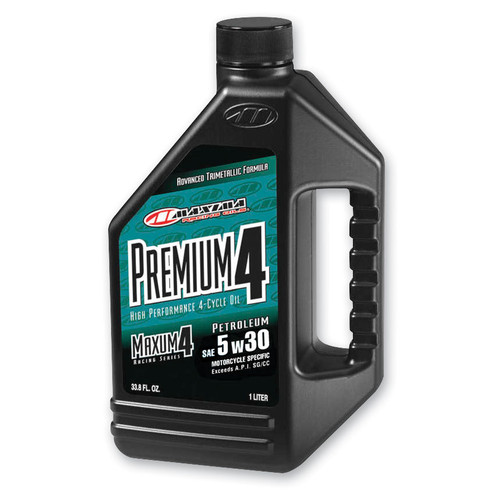 Maxima Premium High Performance 4-Stroke Engine Oil