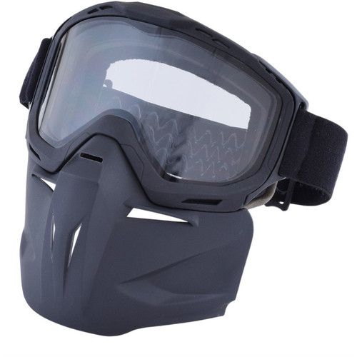 AFX Bounty Hunter Goggles & Mask (Matte Black)