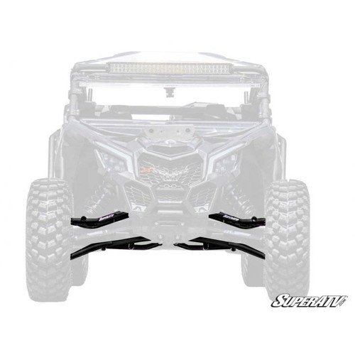 Super ATV Can-Am Maverick X3 High Clearance Front Tubed A Arms