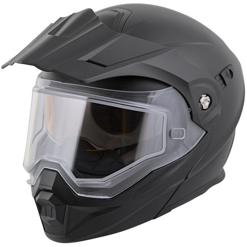 Scorpion EXO-AT950 Solid Snow Helmet (Matte Black)
