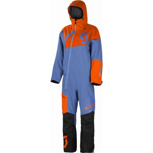 Scott Womens DS Insulated Monosuit (Riverside Blue/Grenadine Orange)