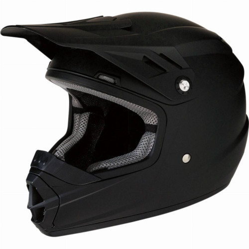 Z1R Youth Rise Solid Helmet (Flat Black)