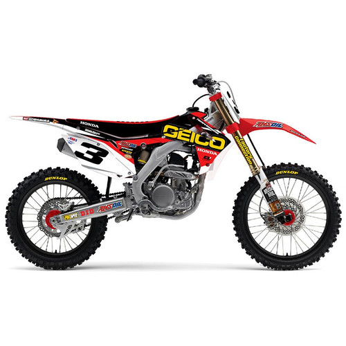 "D'Cor Visuals Dirt Bike ""Team"" Graphics Kits"