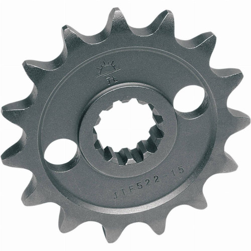 JT Self Cleaning Steel Front Motorcycle Sprocket