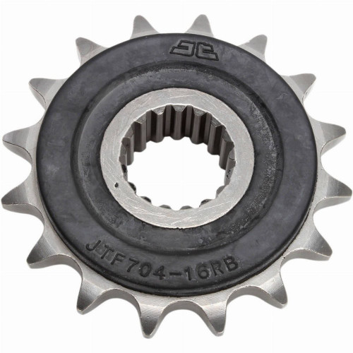 JT Rubber Cushioned Steel Front Motorcycle Sprocket for Honda