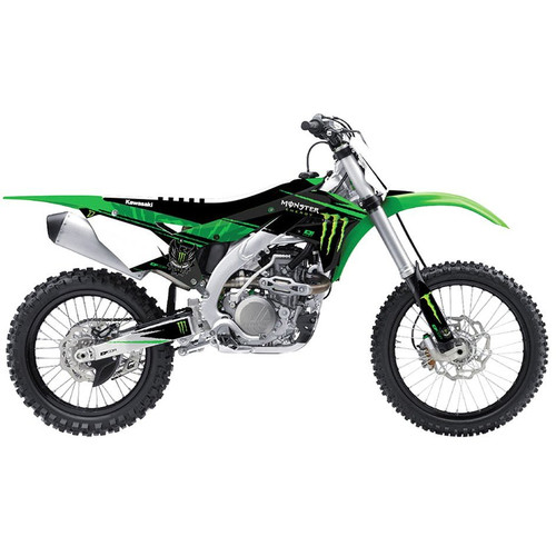 D'cor Visuals Monster Energy Complete Dirt Bike Graphics Kit