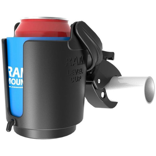 RAM Mounts Level Cup 16oz Drink Holder with Tough-Claw Mount