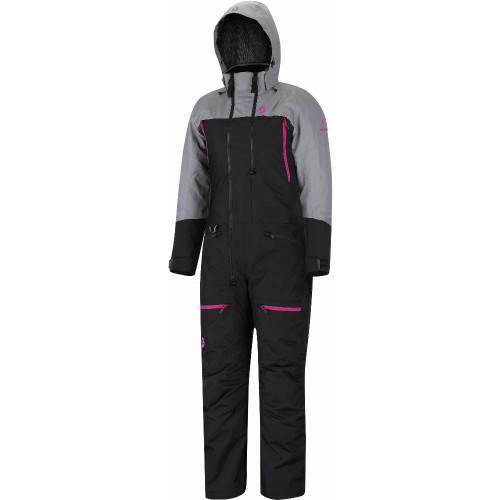 Scott Womens Roop Dryo Insulated Monosuit (Black/Neutral Grey)