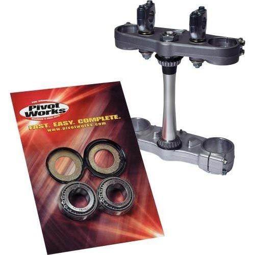 Pivot Works Motorcycle Steering Stem Bearing Kit for Honda