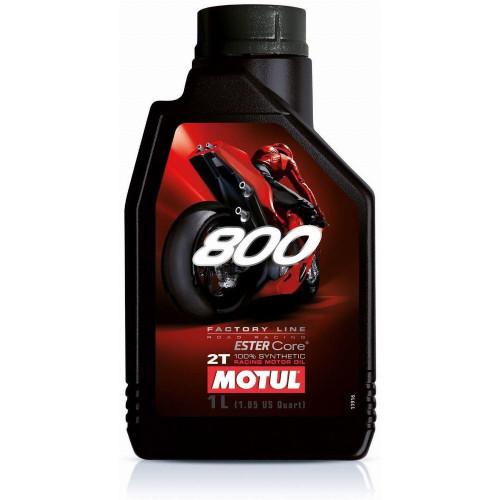 Motul 800 Factory Line Road Racing 2T Synthetic Motor Oil