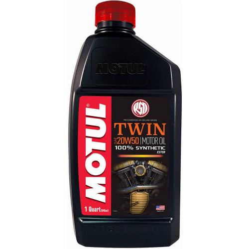 Motul Twin 20W50 4T Synthetic Motor Oil