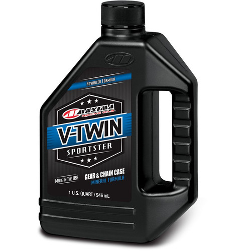 Maxima V-Twin Sportster Gear/Chain Case Oil