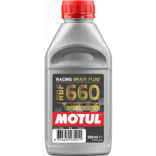 Motul RBF 660 Factory Line DOT 4 Racing Brake Fluid