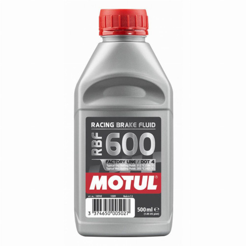 Motul RBF 600 Factory Line DOT 4 Racing Brake Fluid