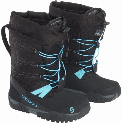 Scott Womens R/T Boots (Black/Bright Blue) (2021)