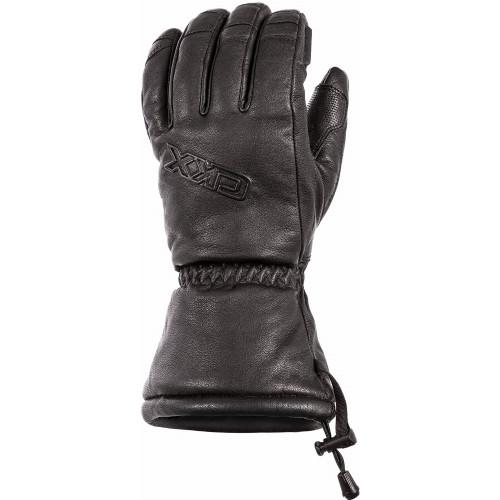 CKX Comfort Grip Leather Gloves (Black)