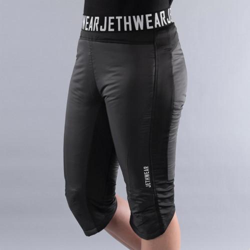 Jethwear Womens Cruiser Shorts (Black)