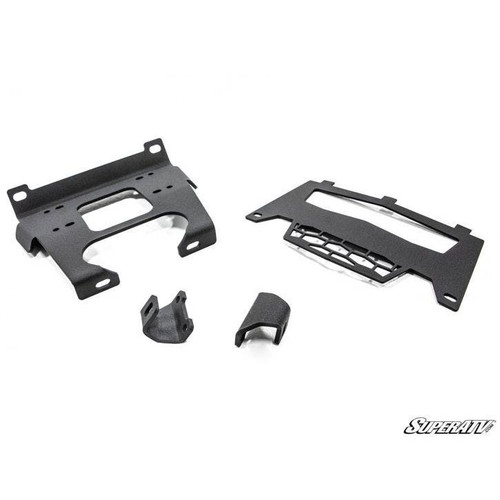 Super ATV Winch Mounting Plate