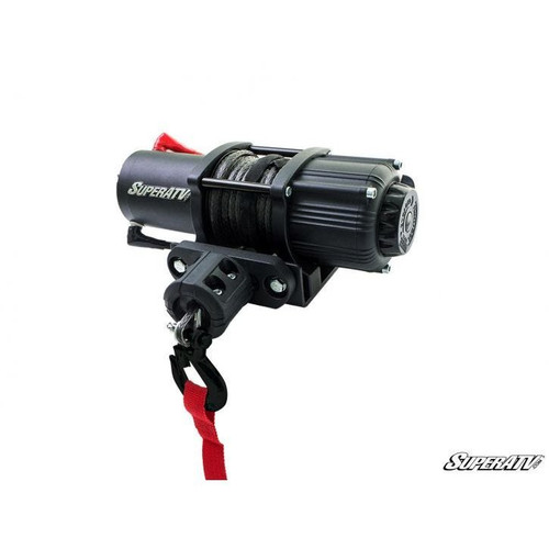 Super ATV 2500 Lb. Black Ops UTV/ATV Synthetic Rope Winch