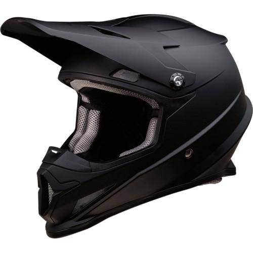 Z1R Rise Solid Helmet (Flat Black)