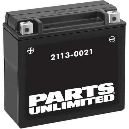 Parts Unlimited AGM ATV/UTV Battery