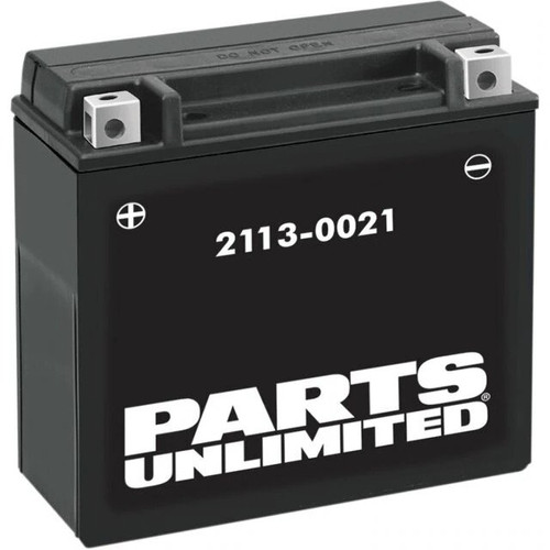 Parts Unlimited AGM Snowmobile Battery