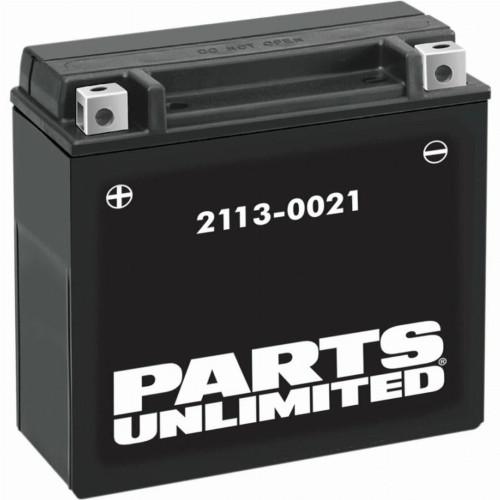 Parts Unlimited AGM Dirt Bike Battery