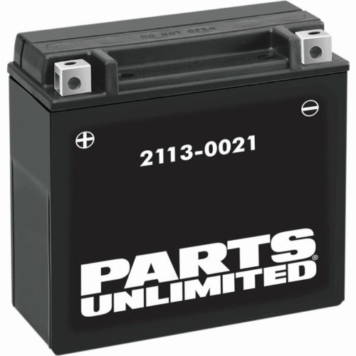 Parts Unlimited High Performance AGM Dirt Bike Battery
