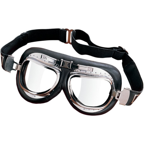 EMGO Roadhawk Leather Goggles
