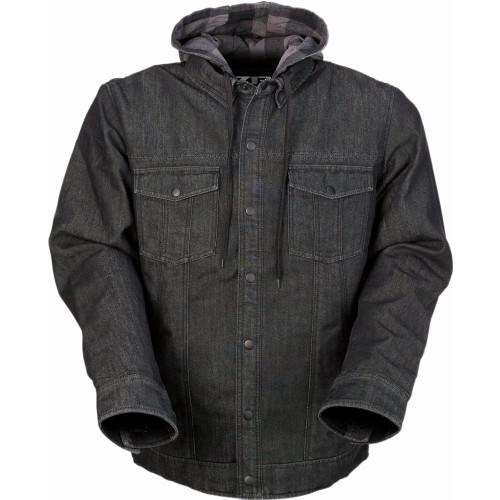 Z1R Timber Denim Shirt (Black/Gray)