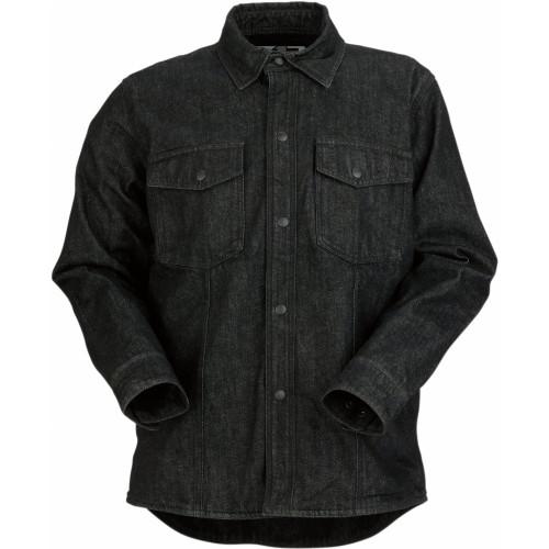 Z1R Denim Shirt (Black)
