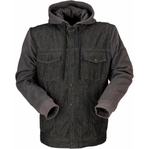 Z1R Denim Hoody (Black/Gray)