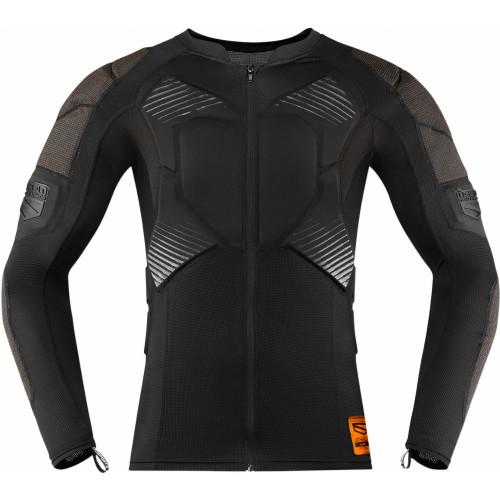 Icon Field Armor Compression Shirt (Black)