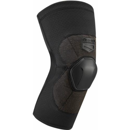 Icon Field Armor Compression Knees (Black)