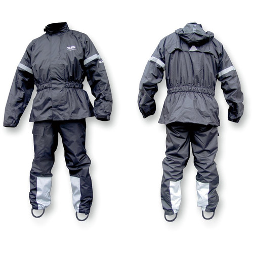 Gears Dri-Tek Two-Piece Rain Suit (Black)