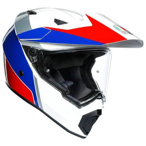 AGV AX9 Atlante Helmet (White/Blue/Red)