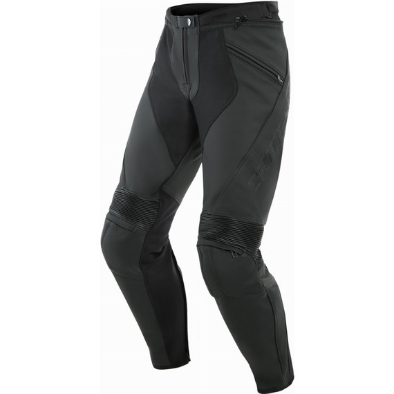 Dainese Pony 3 Leather Pants (Matte Black)