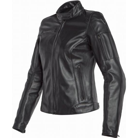 Dainese Womens Nikita 2 Leather Jacket (Black)